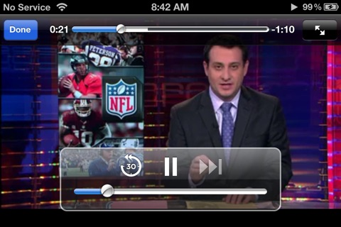 Pro Football Radio & Live Scores + Highlights screenshot 3