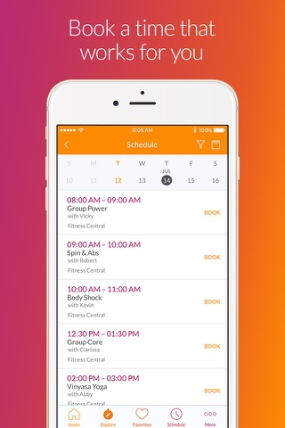 MINDBODY: Fitness, Salon & Spa screenshot 4
