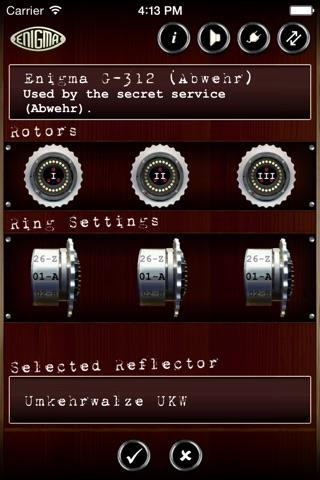 Mininigma: Enigma Simulator screenshot 3