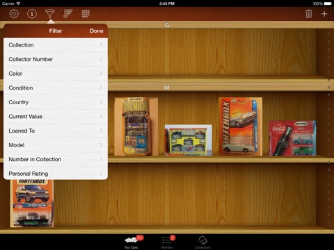 Toy Car Collectors for iPad screenshot 2