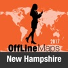 新罕布什尔州 離線地圖和旅行指南