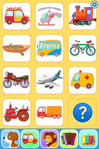 Baby Flash Cards Games & Kids Animal Sounds Free screenshot 2