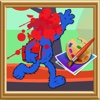 Coloring For Kids Game Elmo and Friend Version