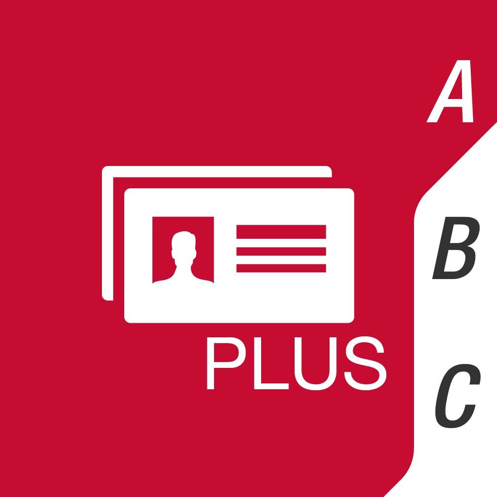 Business Card Reader Plus - OCR Cards Scanner app