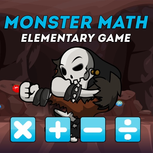 Math Monster Free Fun Games for Elementary Grades iOS App