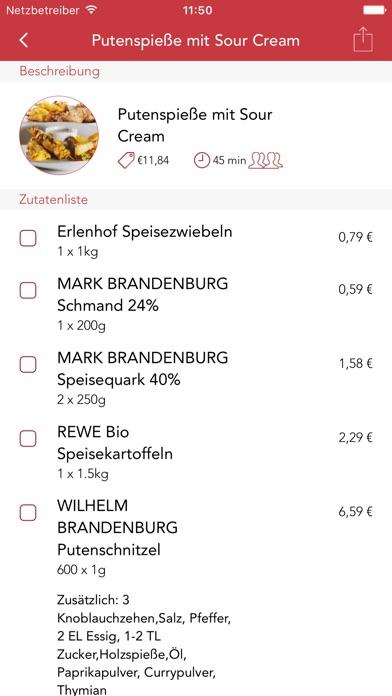 Kochmamsell – Was koche ich heute? Screenshot