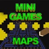 Games Maps for MINECRAFT PE ( Pocket Edition ) !