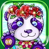 Coloring Pages Animals for Adults Cute Panda Book
