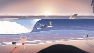 去冲浪 - 无尽的波