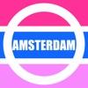 Amsterdam Map- Pocket Netherland Holland Amsterdam Travel Guide with offline GVB Amsterdam Metro Map, Amsterdam Bus Routes Map, Amsterdam Maps, Amsterdam Street maps, Paesi Bassi Amsterdam Guida di viaggio, linea Metro bus mappa stradale dei trasporti