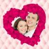 Романтичные Любовь Фото.рамки : Редактор Открытка
