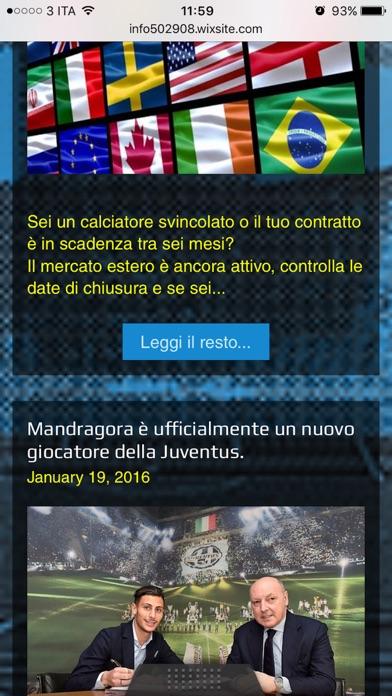 Screenshot of Agente Calciatori - Ohne Berater by A. Colazzo1