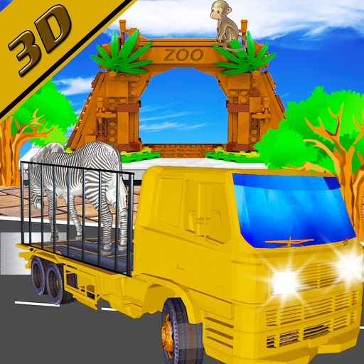 Offroad animal Transporter Truck Simulator 2016 iOS App