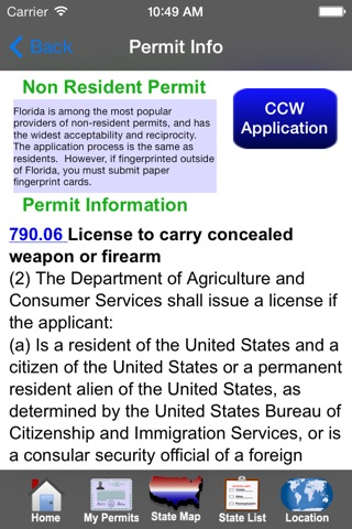 CCW – Concealed Carry 50 State Guide screenshot 3