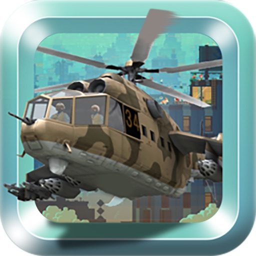 X Helicopter Flight 3D Pro iOS App