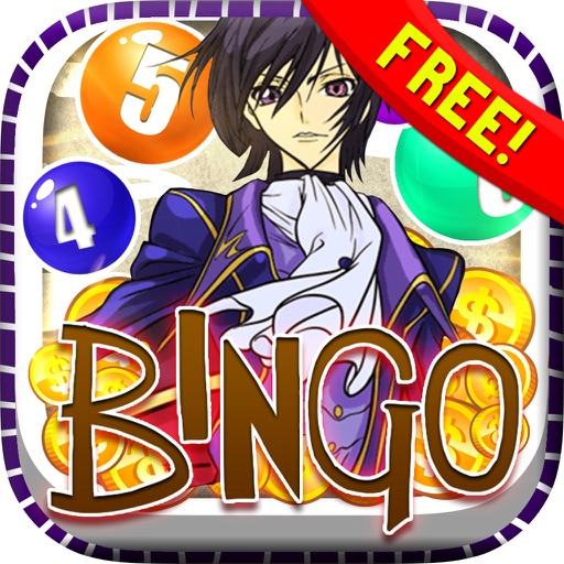 "Bingo Super Casino Vegas Manga ""for Code Geass "" iOS App"