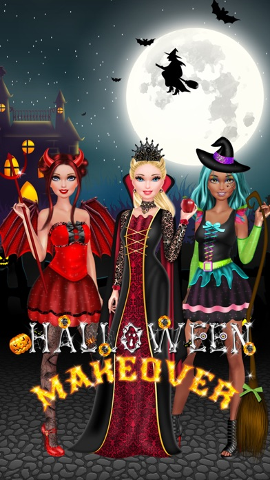 Halloween Makeover - Kids Makeup & Dress Up Games on the App Store