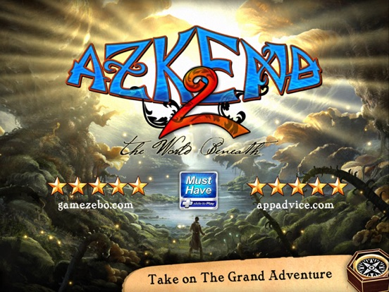 Azkend 2 - The Puzzle Adventure на iPad