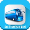 San Francisco Muni California USA where is the Bus