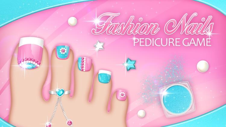 Fashion Nails: Pedicure Game Toe Nail Art Designs by Dimitrije Petkovic