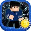 3D Block Star Galaxy Run Pro trek into