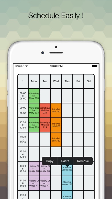 App shopper for timetable education for Rtu 5th sem time table