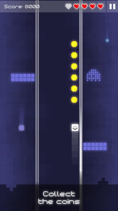 Tile Surfer - Pixel Art Arcade Game (No Ads) screenshot two
