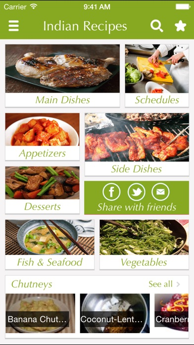 Indian food recipes best cooking tips ideas on the app store iphone screenshot 1 forumfinder Images
