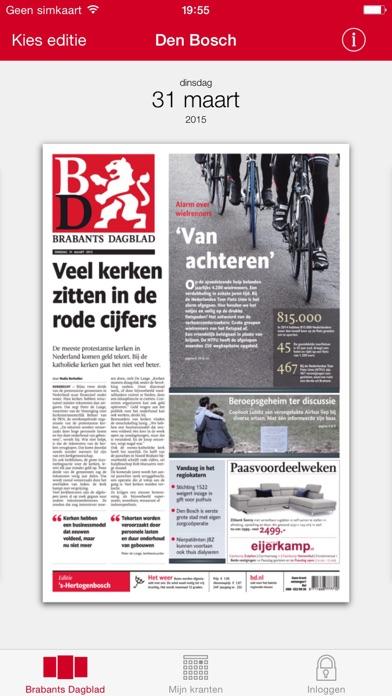 Brabants Dagblad Krant - App voor iPhone, iPad en iPod ...