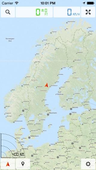 Escandinavia Dinamarca Noruega Suecia Finlandia  Mapa fuera