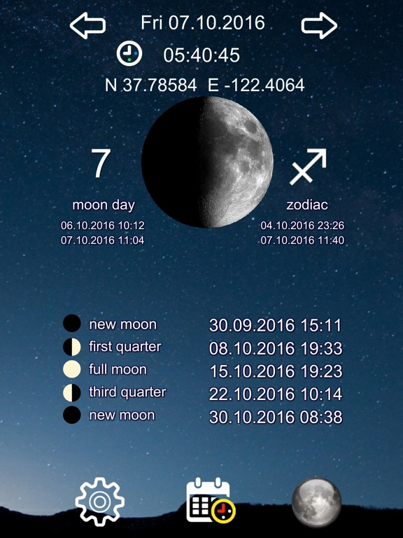 Moon Day Simple Screenshots