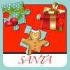 Santa Claus Puzzle - Noël mignon - gratuit