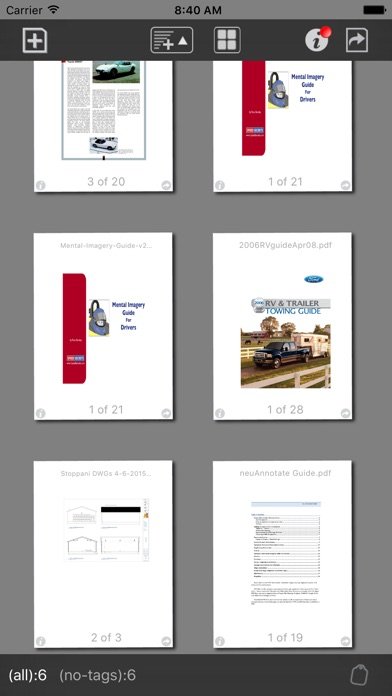 neu.Annotate+ PDF Screenshots