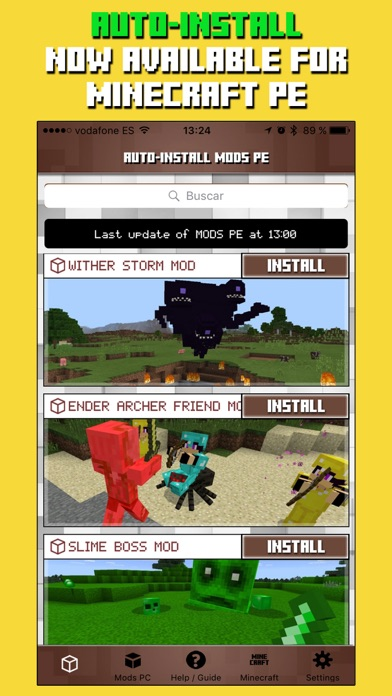 Mods for Minecraft PC & Addons for Minecraft PE Screenshot