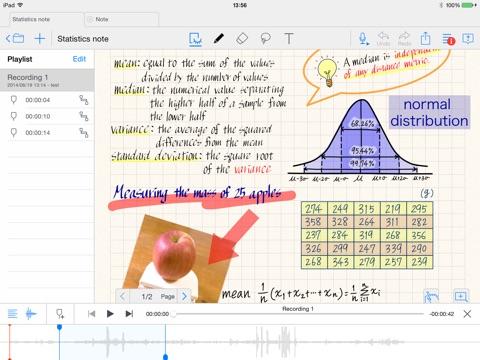 Screenshot #4 pour MetaMoJi Note - note taking and PDF annotation app
