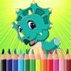 Dinosaur Coloring Book per i bambini e adulti gioc