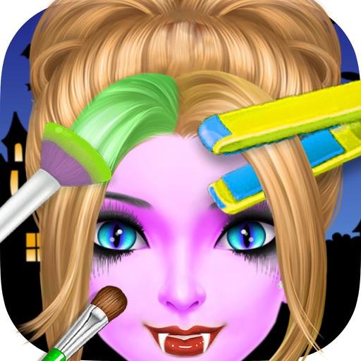 Halloween Hair Salon Spa: Girl Hair Salon & Makeup iOS App