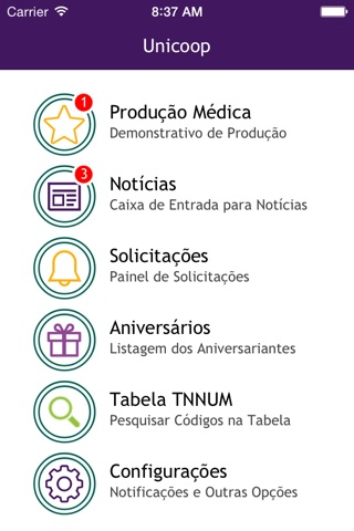Unicoop Araraquara screenshot 3
