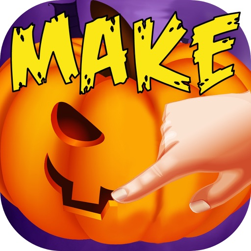 Pumpkin Maker Halloween Party iOS App