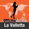 瓦莱塔 離線地圖和旅行指南