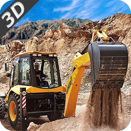 Construction Crane & Dump Truck-Operate Excavator iOS App