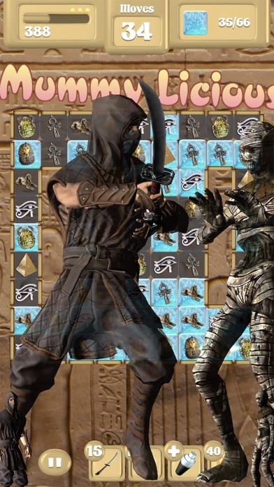 Assassin Vs Mummies Free Fall Unlocked Screenshot 1