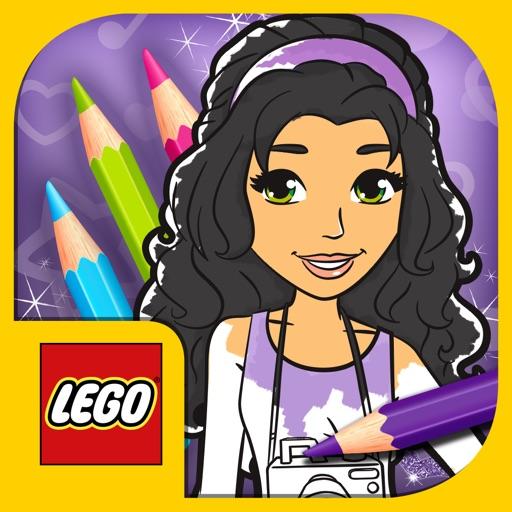 Лего френдс рисуй играй создавай
