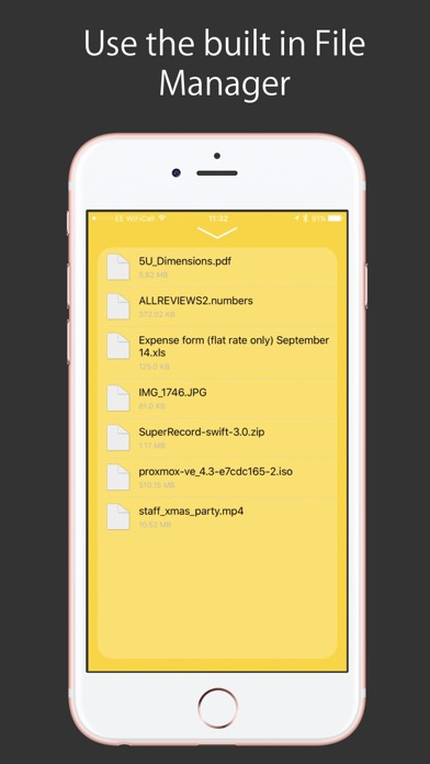 Screenshot #6 for Air Drive - Transfer files on the go