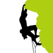 ClimbingAway, the ultimate rock climbing app icon