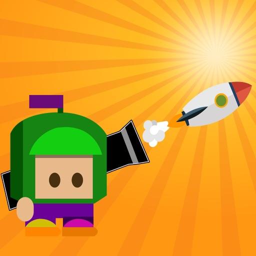 Deadly Rocket - Cannon Head Exploder Hard Game iOS App