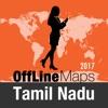 泰米尔纳德邦 離線地圖和旅行指南