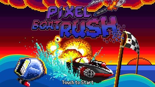 Pixel Boat Rush Screenshot