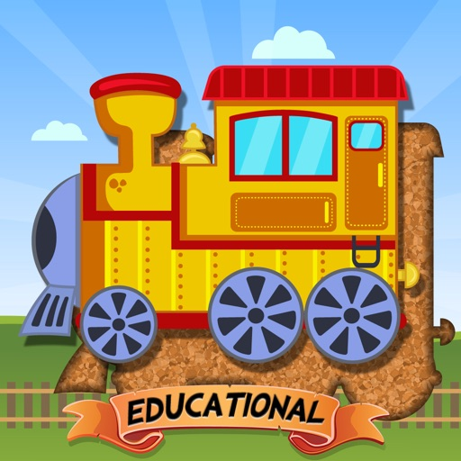 Train Puzzles for Kids - Educational Edition iOS App