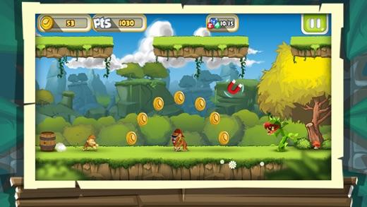 Monkey Run: Fantastic Adventure Tale Screenshot